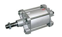 Serie: K Ø 160-200 <br /> Druckluftzylinder ISO 15552