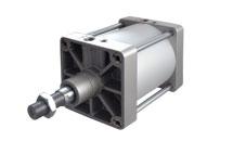 Serie: K Ø 250-320 <br /> Druckluftzylinder ISO 1555